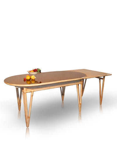 Mobilier en rotin salles manger table classiqua for Table a manger en rotin
