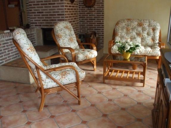 Meuble en rotin salon en rotin salle manger fauteuil en rotin belgi - Salon rotin pas cher ...