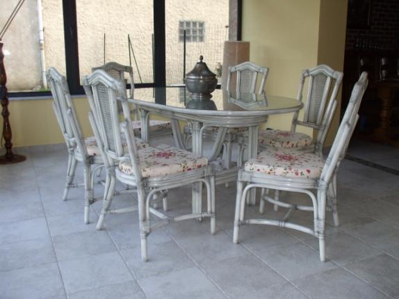 Meuble en rotin salon en rotin salle manger fauteuil for Mobilier salon salle a manger